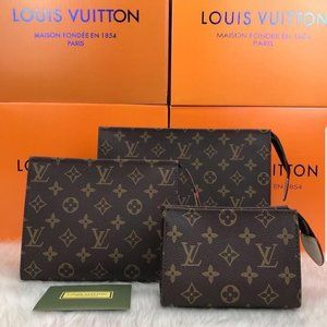 Louis Vuitton Toiletry Pouch 3 Sets